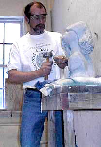 (carving stone sculptures)