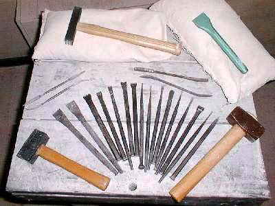 stone carving and sculpture tools